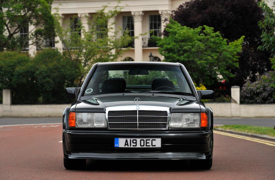 1989 Mercedes-Benz 190E 2.5-16 Evolution Chassis no. WDB201.036-1F-612472 Engine no. 102.991-10-000429
