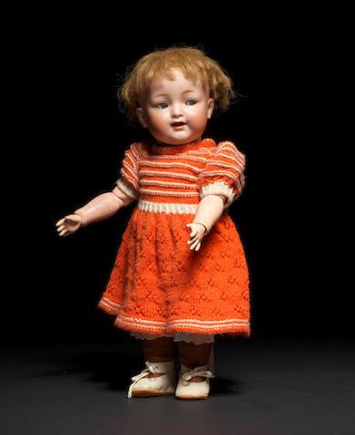 A Kämmer & Reinhardt 126 'Mein Lieblingsbaby' bisque head character toddler