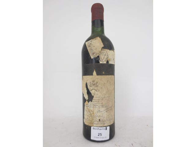 Chateau Mouton Rothschild 1945 (1)