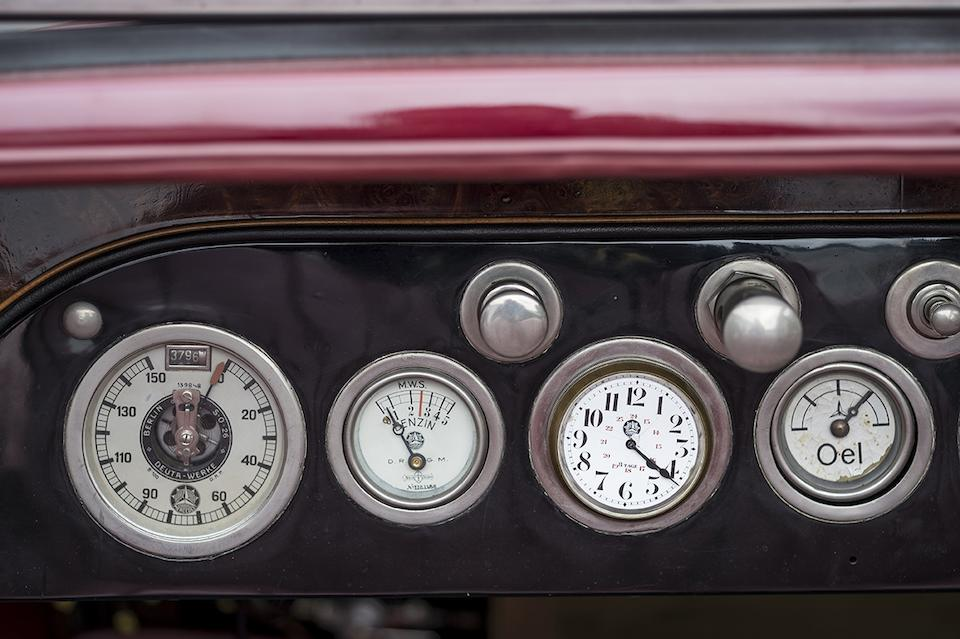 1924 Mercedes 10/40/65hp Sport Phaeton Chassis no. 27434 Engine no. 55905