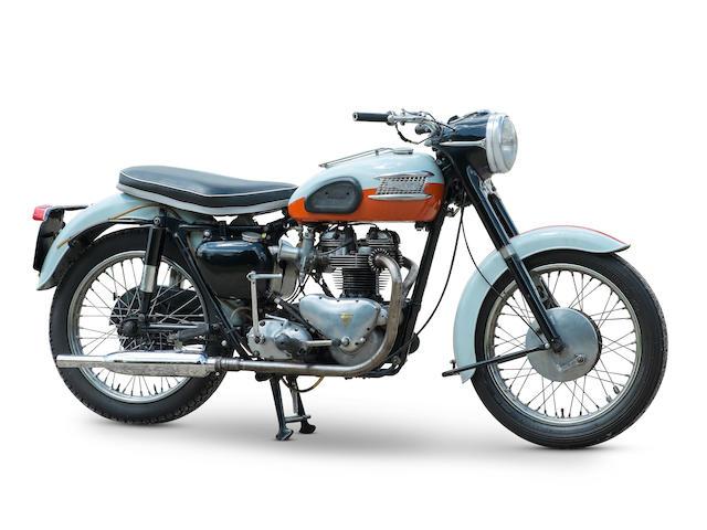 Property of a deceased's estate,1959 Triumph 649cc T120 Bonneville Frame no. 022891 Engine no. T120 022891