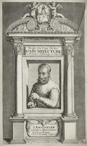 VIGNOLA (GIACOMO DE BAROZZIO) Reigle des cinq ordres d'architecture, Amsterdam, Justus Danckers, [c.1700]