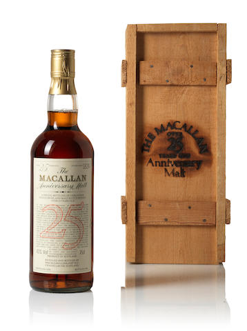 The Macallan Anniversary-1958-25 year old