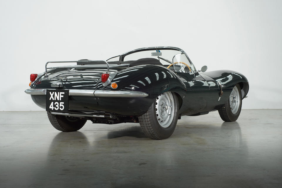One of nine Lynx re-creations, ex-Dick Skipworth, Nicholas Cage,1967/1988 Jaguar XKSS 3.8-Litre Replica  Chassis no. 1E50912 / Body Number: LB4575-9