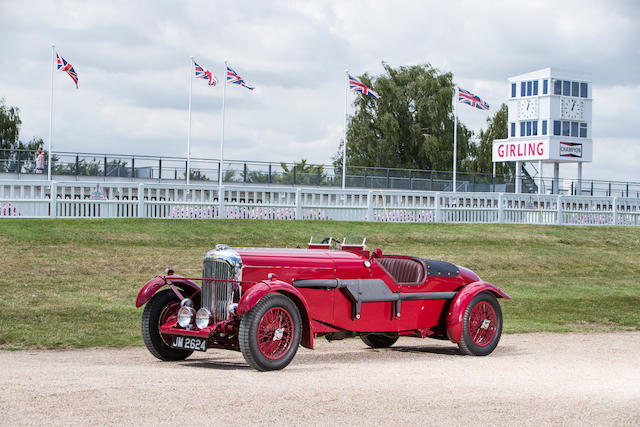 1936 Lagonda LG45 4½-Litre Fox & Nicholl Le Mans Team Car Replica  Chassis no. 12084 Engine no. LG6 486 S4