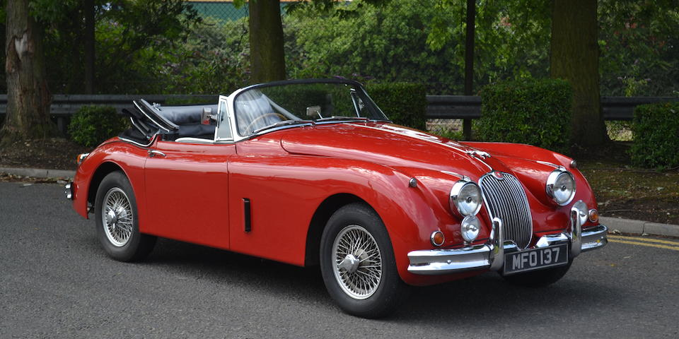 1959 Jaguar XK150SE 3.8-Litre Drophead Coupé  Chassis no. S827464DN Engine no. 7B57024-8