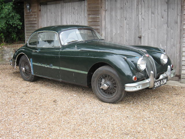 1958 Jaguar XK150 Coupe  Chassis no. S824582DN Engine no. V5032-8