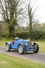 From the estate of the late Graham Galliers,1934 MG Magnette ND/NE Racing Special  Chassis no. NA 0512 Engine no. 771AN