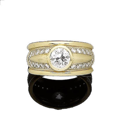 A diamond ring, by Merridee Cram