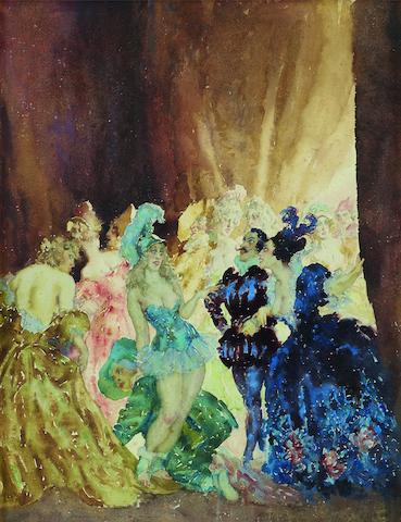 Norman Lindsay (1879-1969) Belinda's Ball