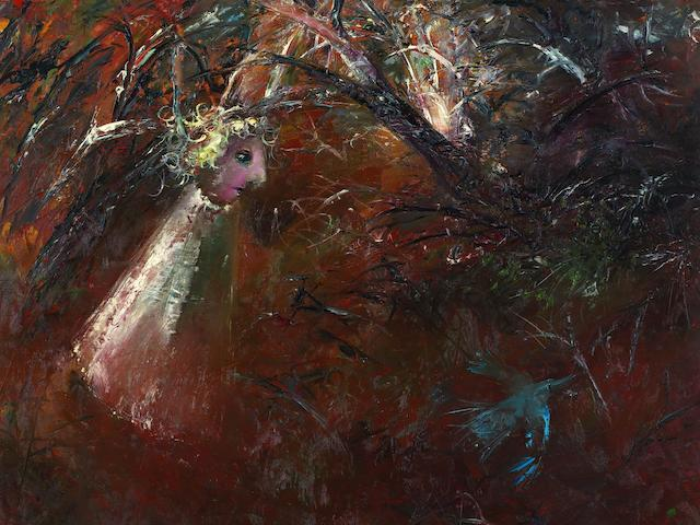 Arthur Boyd (1920-1999) Bride and Bluebird, 1960-62