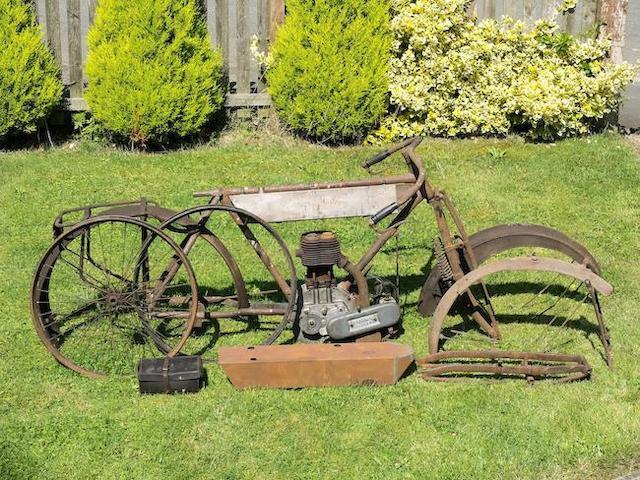 1910 Bradbury 3½hp Project Engine no. 2359