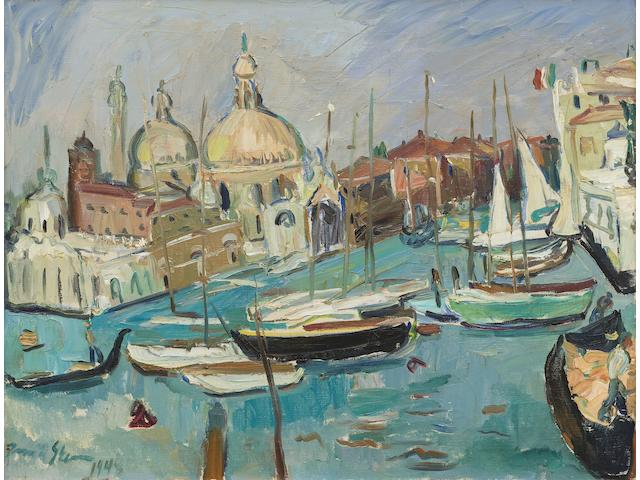 Irma Stern (South African, 1894-1966) The Entrance to the Grand Canal, Venice