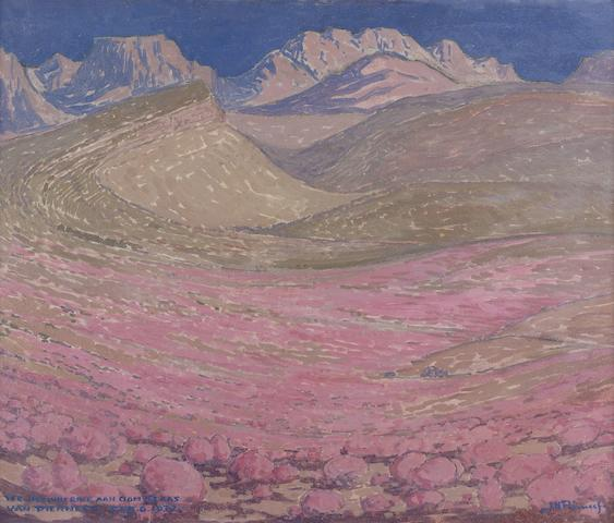 Jacob Hendrik Pierneef (South African, 1886-1957) Prins Albert