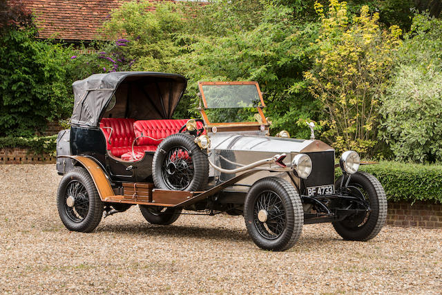 1922 Rolls-Royce 40/50hp Silver Ghost Victoria  Chassis no. 58YG