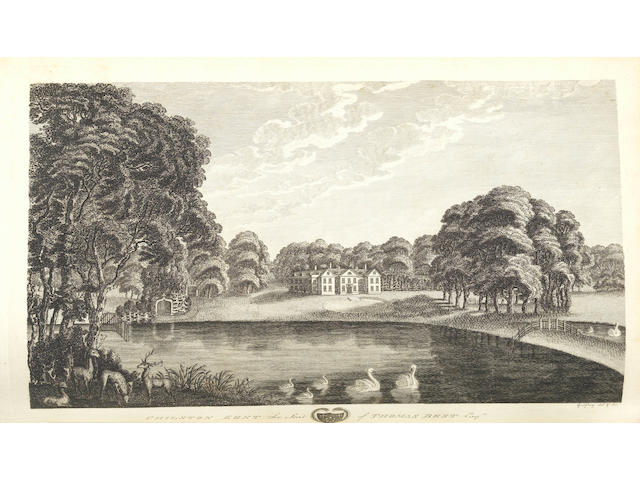 KENT HASTED (EDWARD) The History and Topographical Survey of the County of Kent, 4 vol., first edition, Canterbury, by Simmon and Kirkby, for the Author, 1778-1799