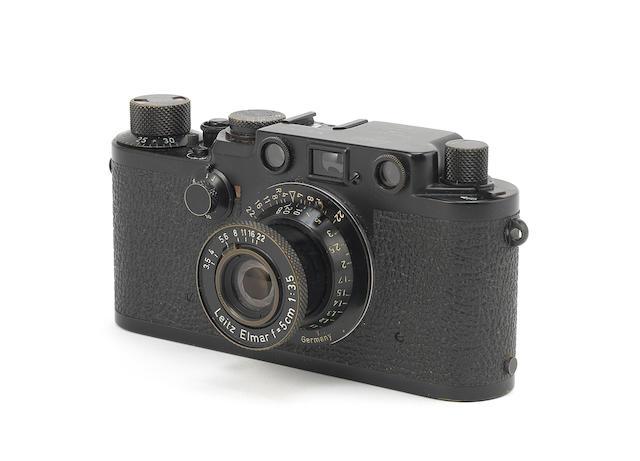 Leica IIIf, Swedish Army body, 1956,
