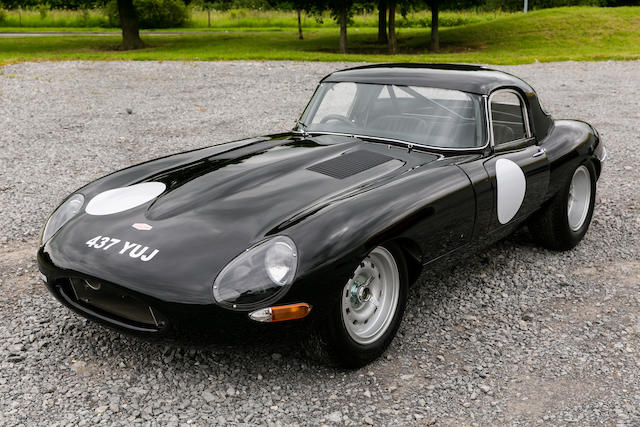 Fully race prepared, FIA papers,1961  Jaguar E-Type Series 1 3.8-Litre Lightweight Competition Coupé Replica  Chassis no. 876362 Engine no. Block Number: 047 (Crosthwaite & Gardiner)