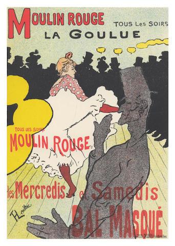 """MAINDRON (ERNEST) Les Affiches illustrées (1886-1895), NUMBER 637 OF 1,000 COPIES """"sur papier vélin"""", Paris, G. Boudet, 1896"""