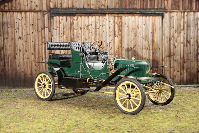 The ex-William Harrah Collection,1909 Stanley Model E2 10 HP Runabout   Chassis no. 4852