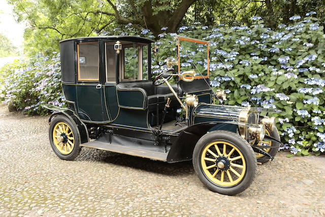 Ex-Sullivan Collection, Hawaii,1911 Delahaye Type 48 12/14hp Open Drive Brougham de Ville  Chassis no. 5432