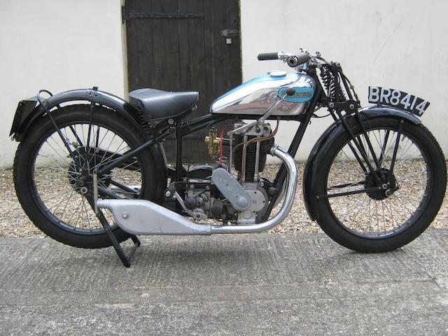 1930 New Imperial 350cc Blue Prince Frame no. 13552 Engine no. 20973