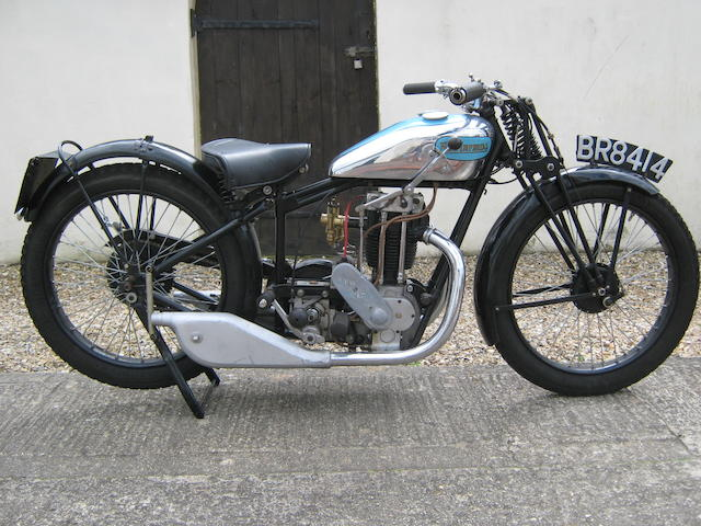 1930 New Imperial 350cc Blue Prince Frame no. 13552 Engine no. 20973
