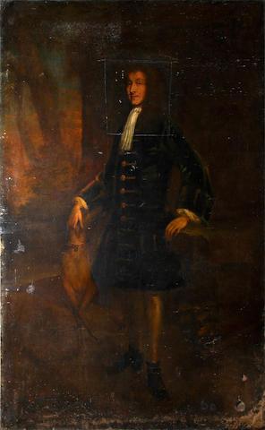 English School, circa 1700 Portrait of a gentleman (unframed)