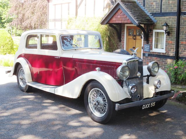 1937 Alvis 3½-Litre Crested Eagle TB Saloon  Chassis no. 13749 Engine no. 13749