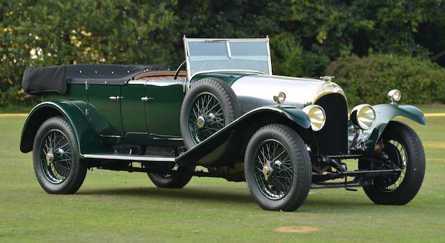 1925 Bentley 3-Litre 'Blue Label' Tourer  Chassis no. 930 Engine no. 914