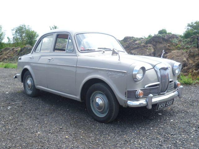1962 Riley 1.5 Sports Saloon  Chassis no. R/HS22481 Engine no. 20685