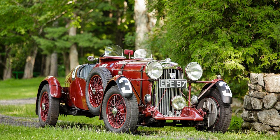 FAMOUS LAGONDA TEAM CAR 'EPE 97' TO STAR IN BONHAMS GOODWOOD REVIVAL SALE