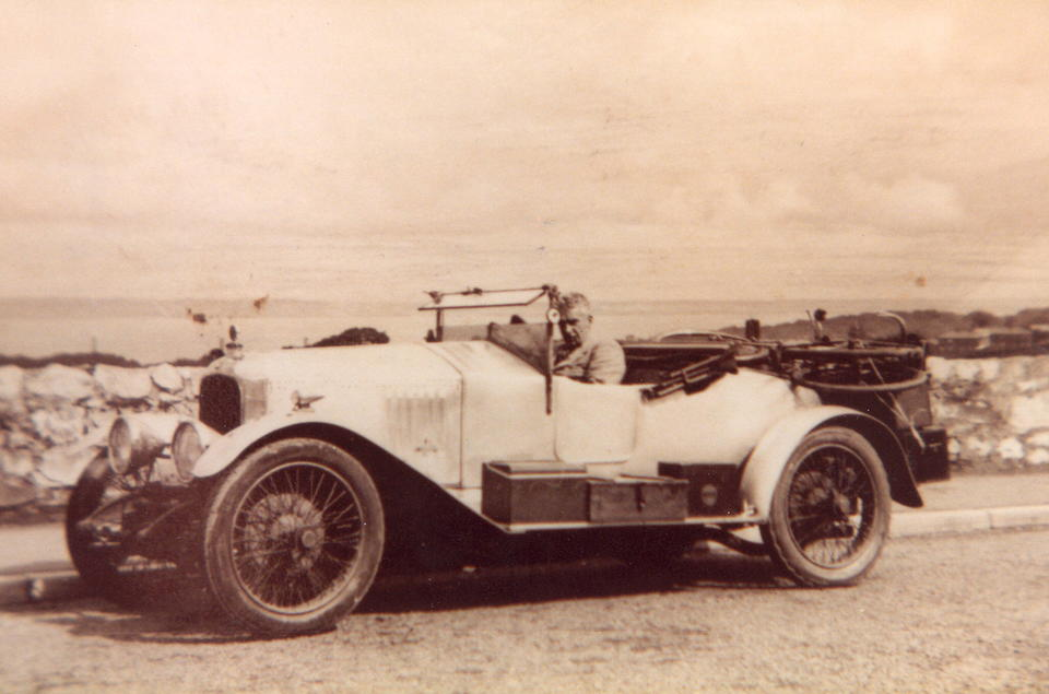 One family ownership since 1952,1920 Vauxhall E-type 30-98 Two-seater and dickey  Chassis no. E269 Engine no. E277