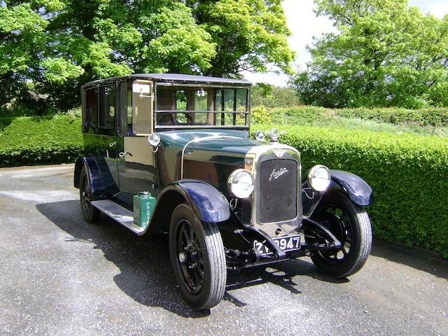 1928 Austin 20hp Landaulet  Chassis no. 6PL 5154 Engine no. 20901