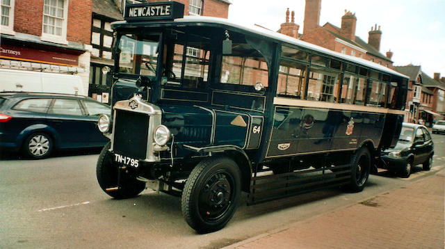 1925 AEC 411 Single-Deck Omnibus  Chassis no. 411063 Engine no. 96
