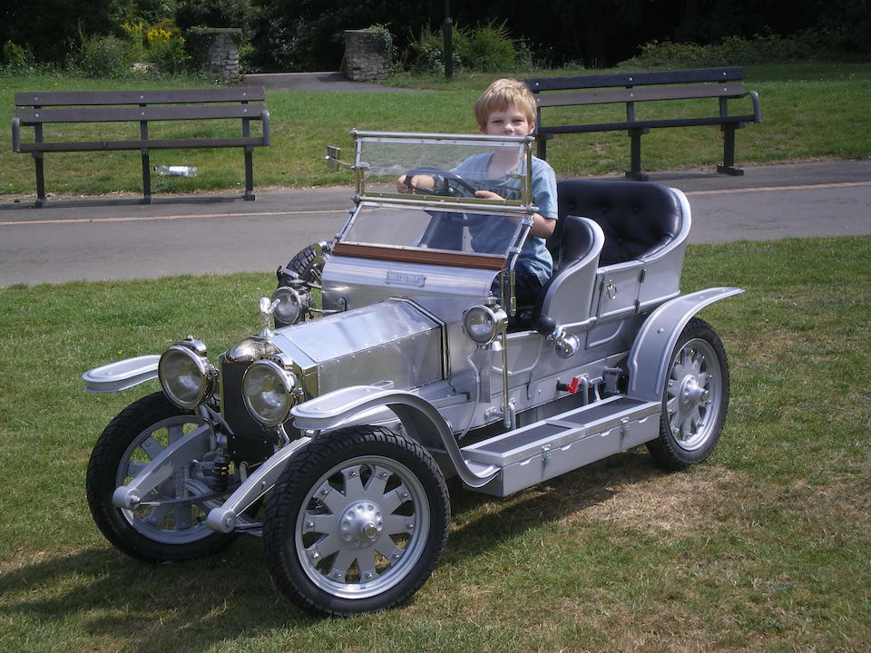 A superb half-scale Rolls-Royce Silver Ghost child's car,