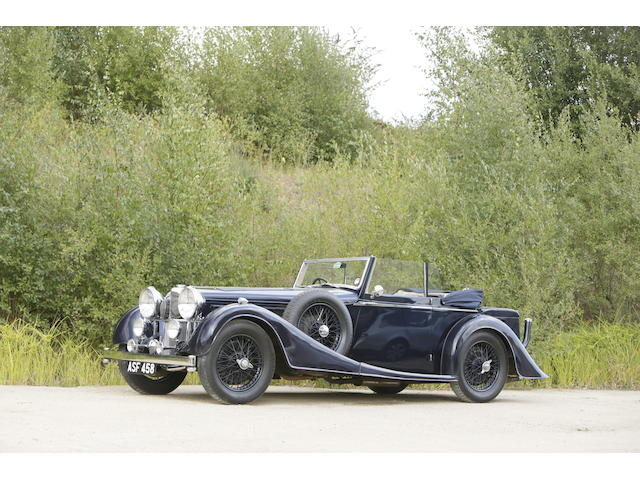 1937 Alvis 4.3-Litre Drophead Coupé  Chassis no. 13639 Engine no. 14219