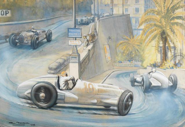 Roy Nockolds (British, 1911-1979), '1937 Monaco Grand Prix',