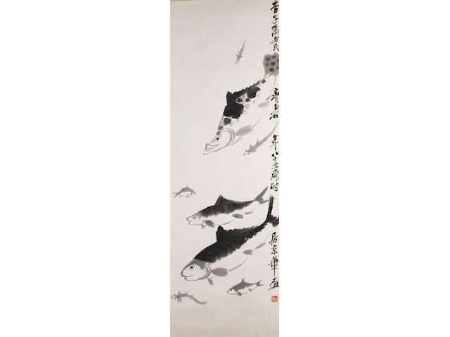 Qi Baishi (1863-1957) Fishes