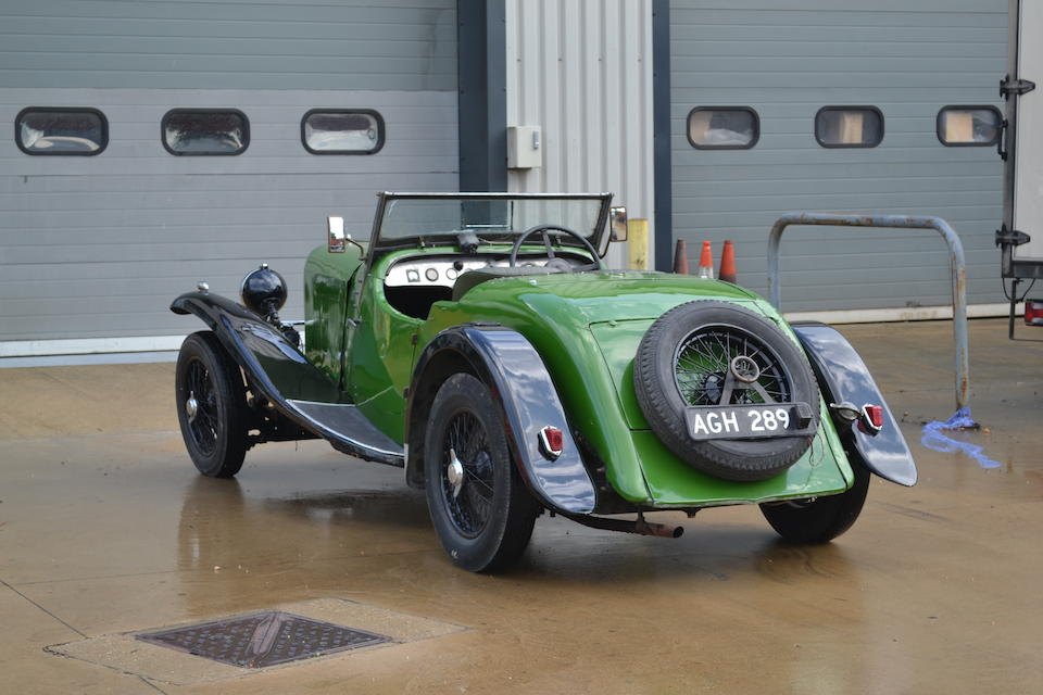 1932 Lagonda 16/80 Two-seater-plus-dickey Sports  Chassis no. S.10266 Engine no. S.2015