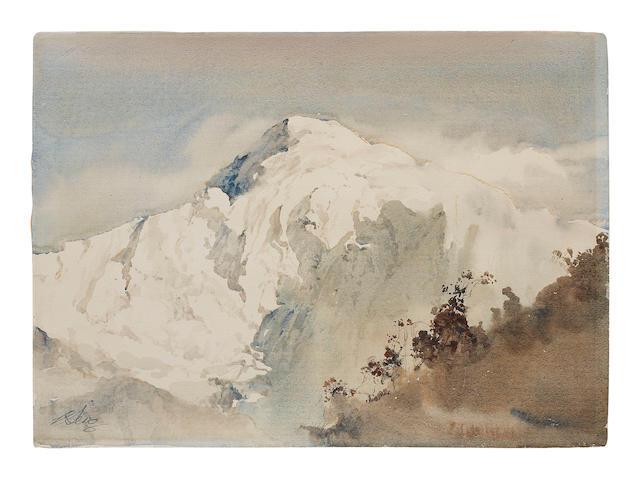 Ong Kim Seng (Singapore, b. 1945) Mountains
