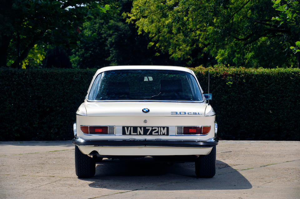 One of only 500 right-hand drive examples,1972 BMW 3.0 CSL Coupé  Chassis no. 2285311 Engine no. 2285311