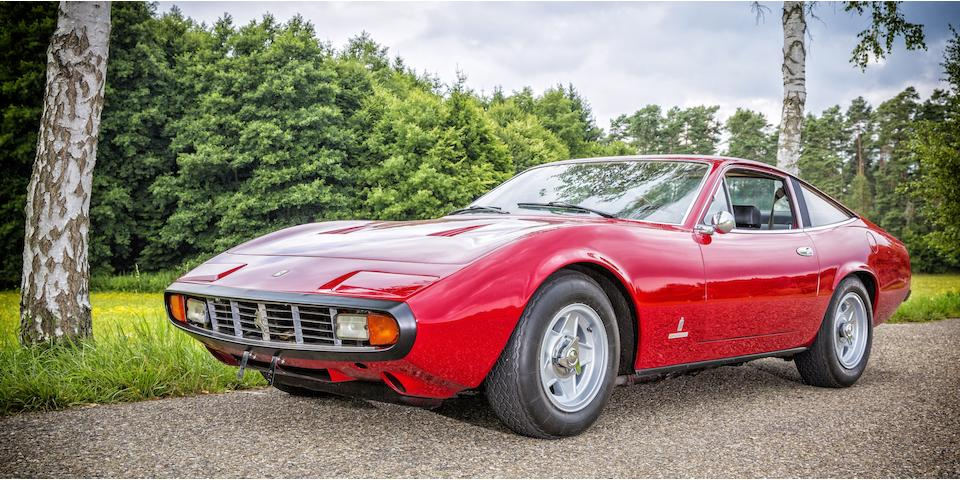 One of a mere 500 cars produced,1972 Ferrari 365GTC/4 Berlinetta Chassis no. 15307 Engine no. 15307