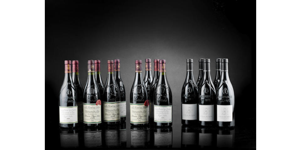 Chateauneuf-du-Pape, Le Secret des Sabon - 1 bottle each of 1990, 1995, 1996, 1998, 1999, 2000, 2001, 2003, 2004, 2005, 2006, 2007, 2009, 2010 & 2011