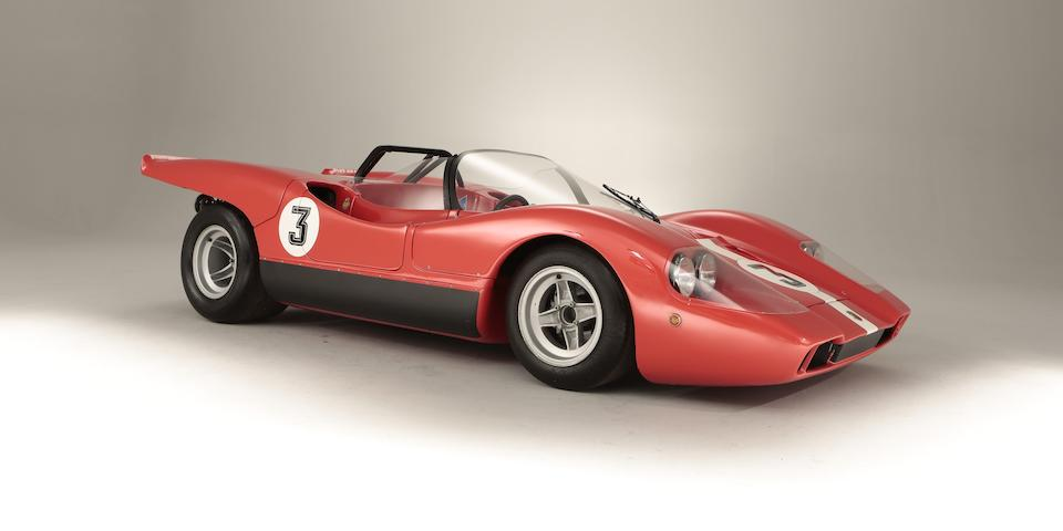 1969 Abarth 1300 Sport Spider SE010 'Quattro Fari' Sports-Racing Prototype  Chassis no. SE010/040
