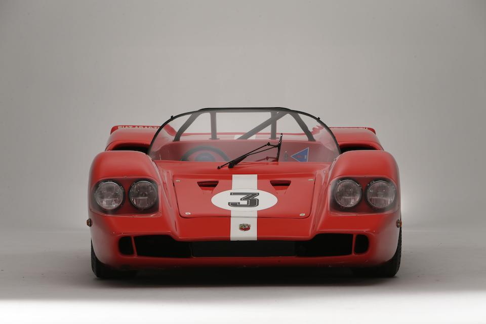 1969 Abarth 1300 Sport Spider SE010 'Quattro Fari' Sports-Racing Prototype  Chassis no. SE010/040