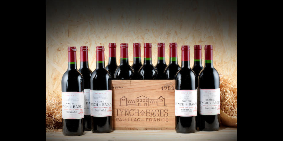 Chateau Lynch-Bages 1989 (12)