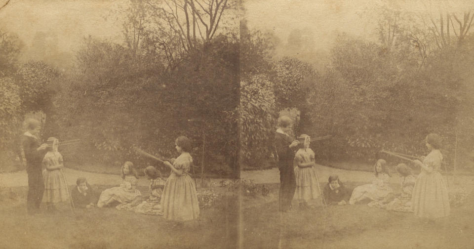 JOHNSTON (EMMA FRANCES) Archive of approximately 350 photographs dating from 1858-1864, together with contemporary manuscript 'Numerical Lists of Photographic Negatives and Index', [Hampstead and elsewhere, 1858-1864]