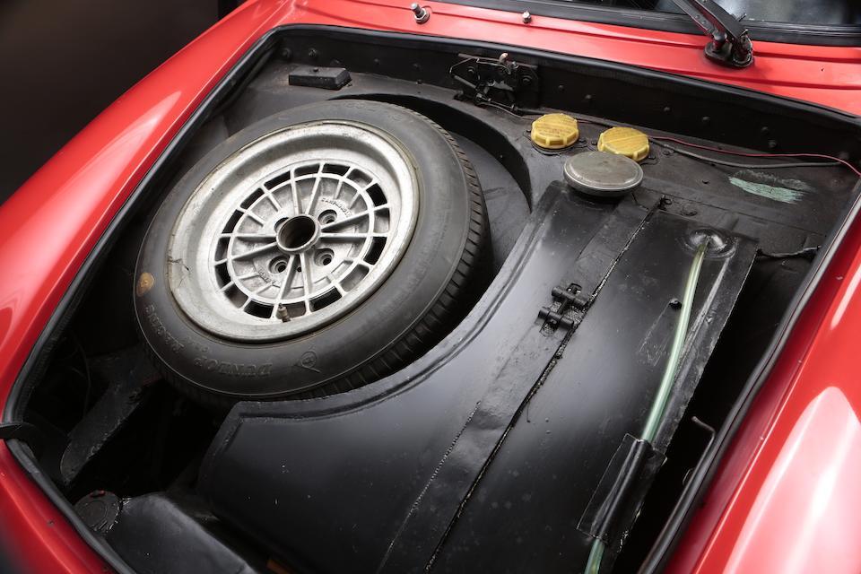 1965 Abarth Simca 2000 GT Corsa 'Campionissimo Europa Montagna'   Chassis no. 136.0056