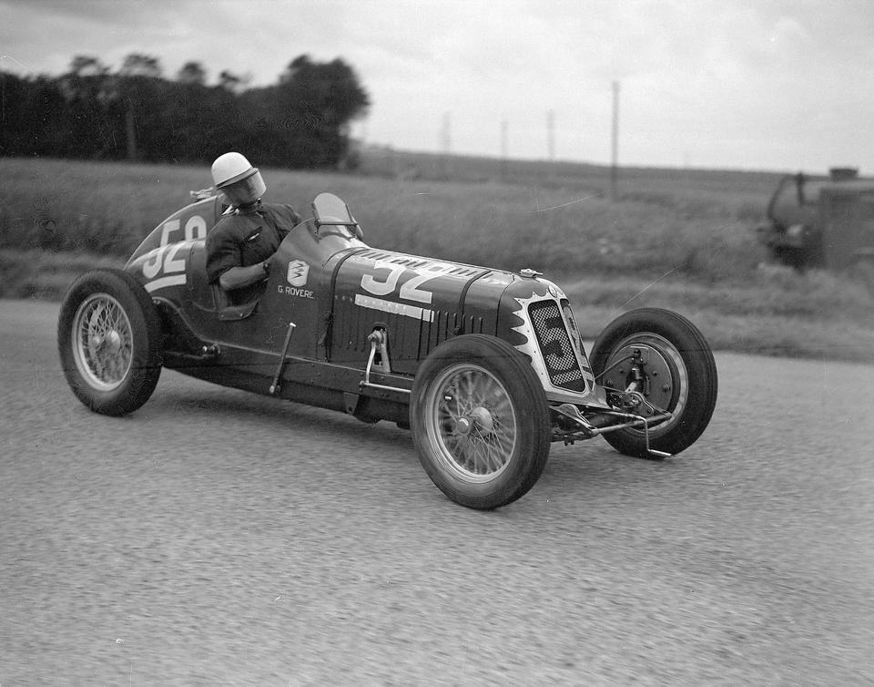 The Ex-Ing. Giuseppe Furmanik,1933 Maserati Tipo 4CM Single-Seat Racing Vetturetta  Chassis no. 1120
